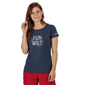 Regatta Breezed Camiseta Mujer, azul